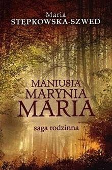 Okładka książki Maniusia, Marynia, Maria
