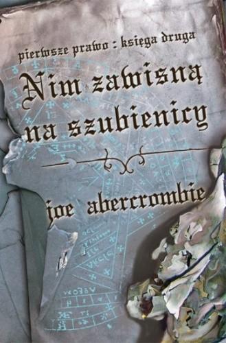 Okładka książki Nim zawisną na szubienicy