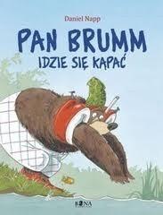 Okładka książki Pan Brumm idzie się kąpać
