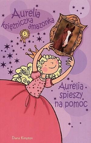 Okładka książki Aurelia spieszy na pomoc