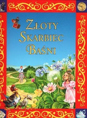 Okładka książki Złoty skarbiec baśni
