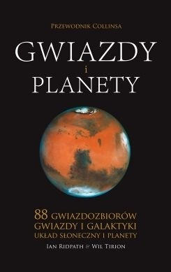 Okładka książki Gwiazdy i planety. Przewodnik Collinsa