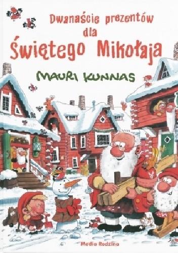 Okładka książki Dwanaście prezentów dla Świętego Mikołaja