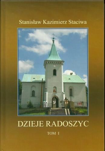 Okładka książki Dzieje Radoszyc, Tom 1
