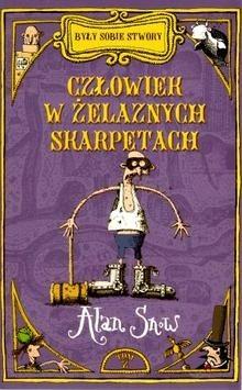 Okładka książki Człowiek w żelaznych skarpetach