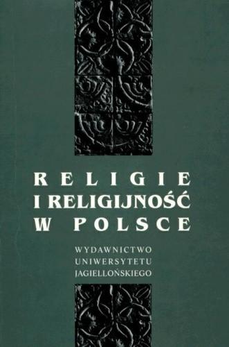 Okładka książki Religie i religijność w Polsce
