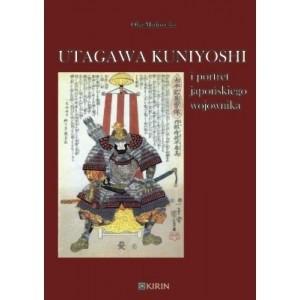 Okładka książki Utagawa Kuniyoshi i portret japońskiego wojownika