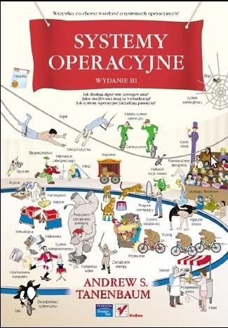 Okładka książki Systemy operacyjne. Wydanie III