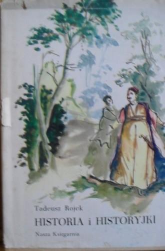 Okładka książki Historia i historyjki