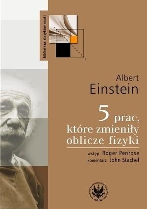 Okładka książki 5 prac, które zmieniły oblicze fizyki