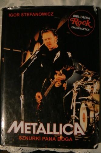 Okładka książki Metallica. Sznurki Pana Boga
