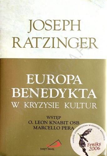 Okładka książki Europa Benedykta w kryzysie kultur