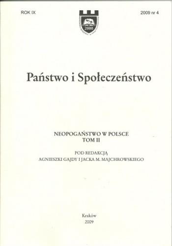 Okładka książki Neopogaństwo w Polsce, Tom II