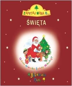 Okładka książki Zapytaj Misia o... Święta