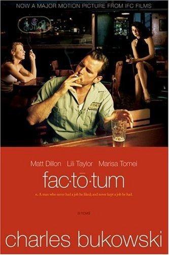 Okładka książki Factotum