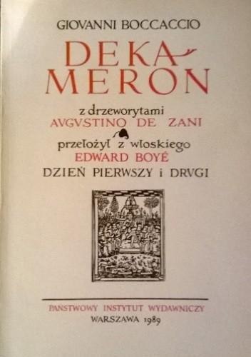 Okładka książki Dekameron, t. 1-5