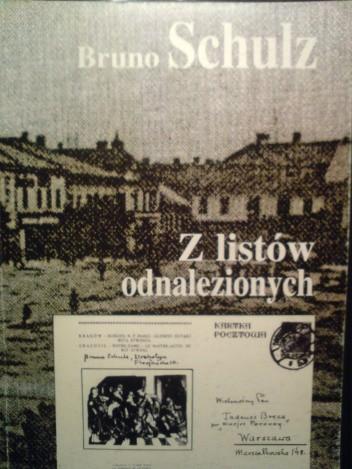 Okładka książki Z listów odnalezionych