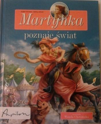 Okładka książki Martynka poznaje świat. Zbiór opowiadań
