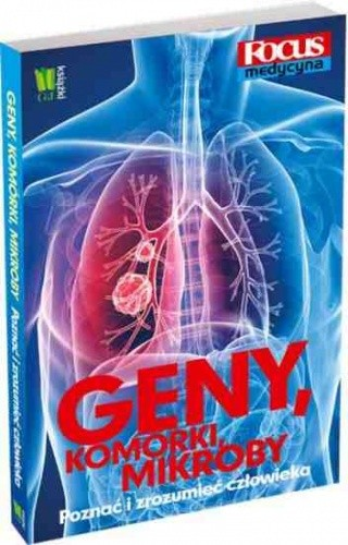 Okładka książki Geny, komórki, mikroby