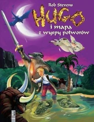 Okładka książki Hugo i mapa z wyspy potworów