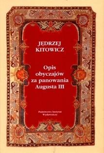 Okładka książki Opis obyczajów za panowania Augusta III