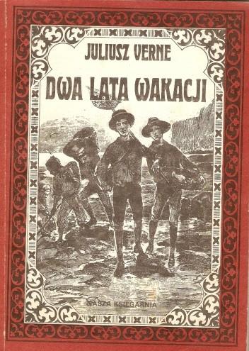 Okładka książki Dwa Lata Wakacji