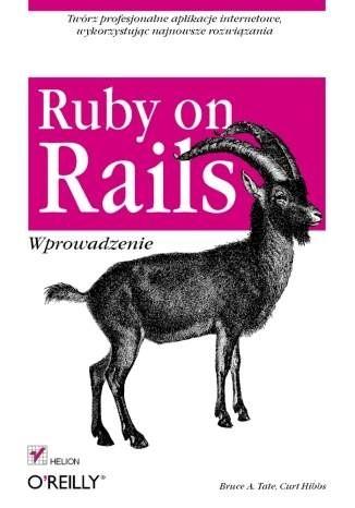 Okładka książki Ruby on Rails. Wprowadzenie