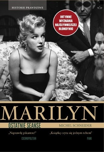 Okładka książki Marilyn, ostatnie seanse