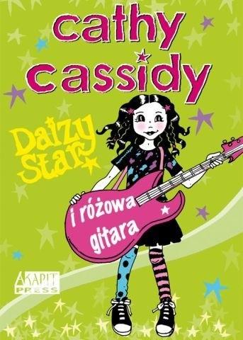 Okładka książki Daizy Star i różowa gitara