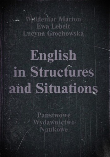 Okładka książki English in Structures and Situations