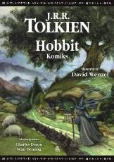 Okładka książki Hobbit. Komiks