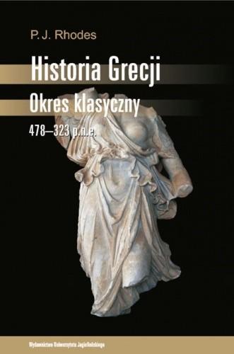 Okładka książki Historia Grecji. Okres klasyczny 478-323 p.n.e.