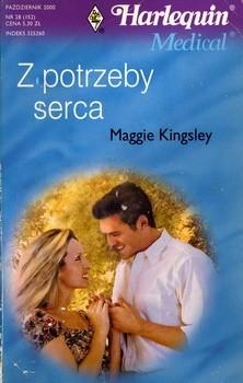 Okładka książki Z potrzeby serca