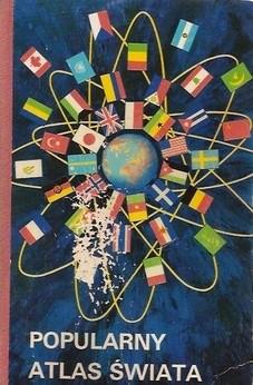 Okładka książki Popularny atlas świata