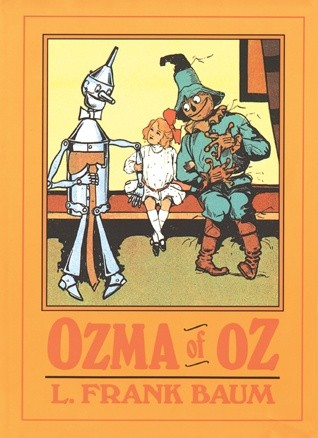 Okładka książki Ozma of Oz