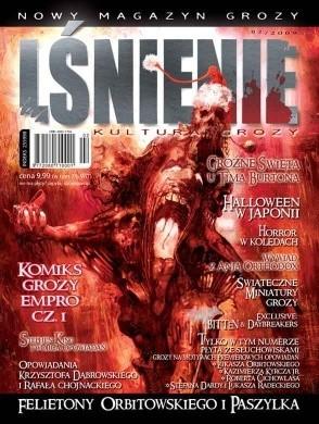 Okładka książki Lśnienie - magazyn kultury grozy #2