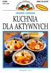 Okładka książki Kuchnia dla aktywnych