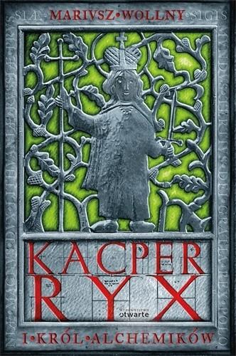 Okładka książki Kacper Ryx i król alchemików