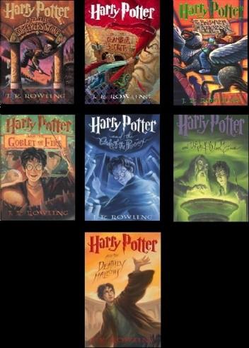 Okładka książki Harry Potter 1-7