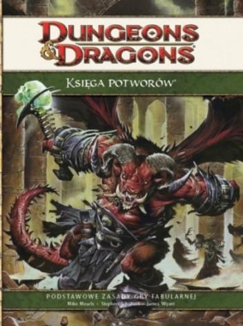 Okładka książki Księga Potworów 4.0