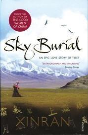 Okładka książki Sky Burial: An Epic Love Story of Tibet