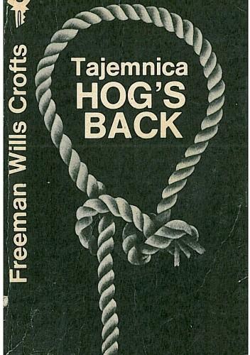 Okładka książki Tajemnica Hog's Back