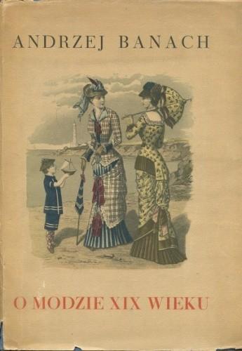 Okładka książki O modzie XIX wieku