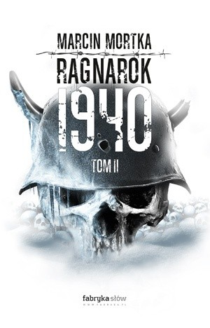 "Okładka książki ""Ragnarok 1940"" tom II"