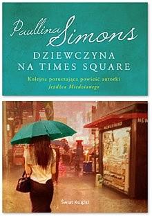 Okładka książki Dziewczyna na Times Square