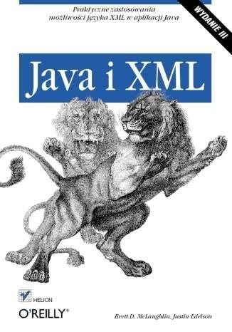 Okładka książki Java i XML. Wydanie III