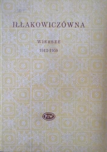 Okładka książki Wiersze 1912-1959