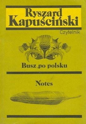 Okładka książki Busz po polsku / Notes