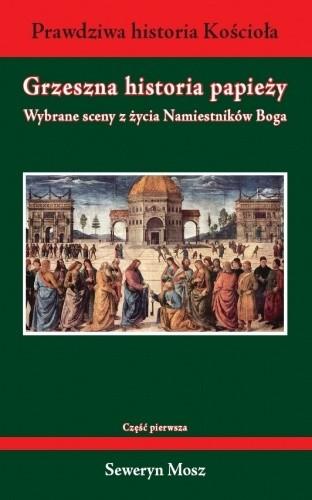 Okładka książki Grzeszna historia papieży