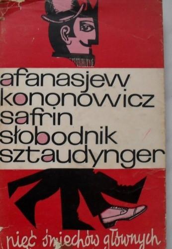 Okładka książki Pięć śmiechów głównych.